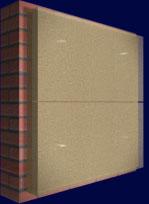 Система вентилируемых фасадов, крепление утеплителя