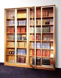 Шкаф с распашными и раздвижными дверями