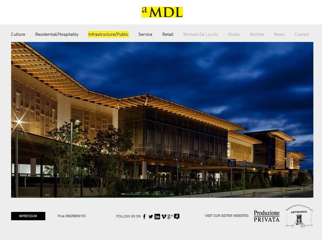 Архитектурное бюро aMDL (Италия)