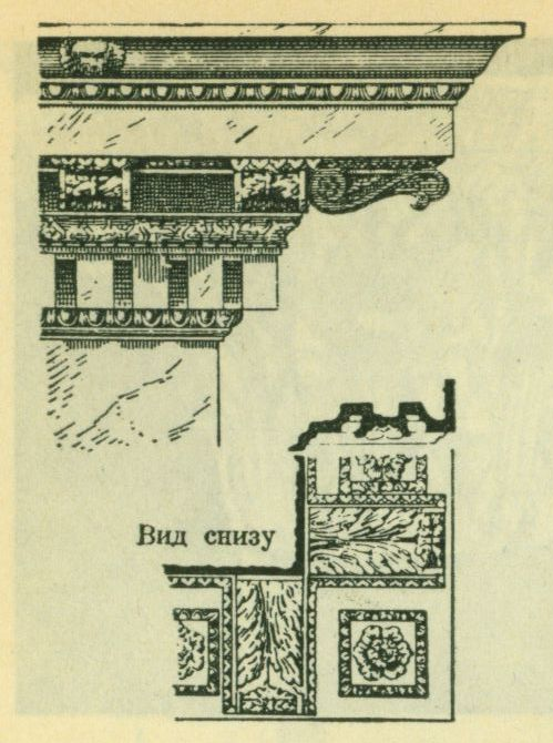 Римско - Коринфский карниз