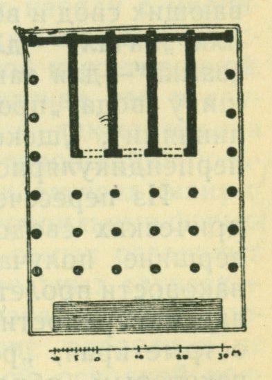 План храма Юпитера Капитолийского в Риме