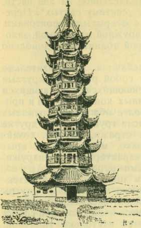 Пагода в Шанхае
