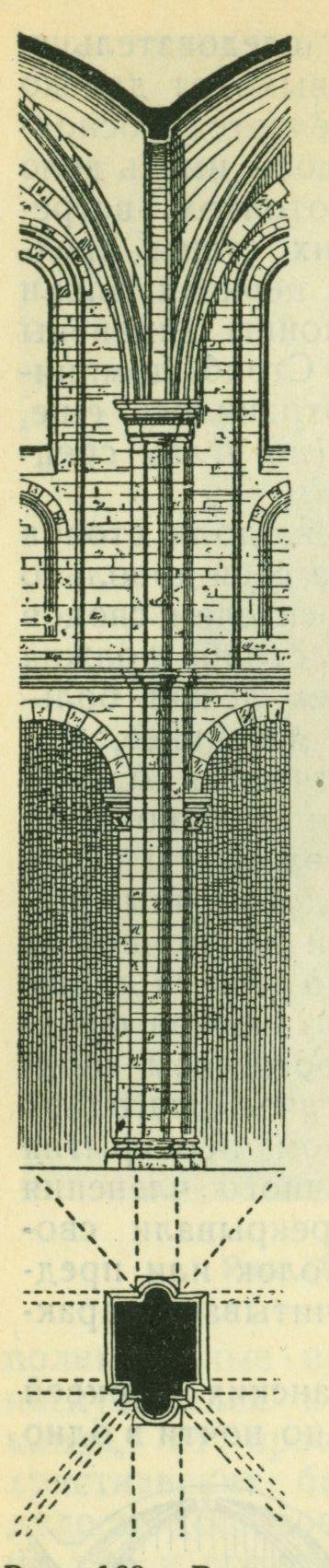 Расчлененный романский столб Вормского собора