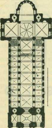 План собора в Шпейере на Рейне