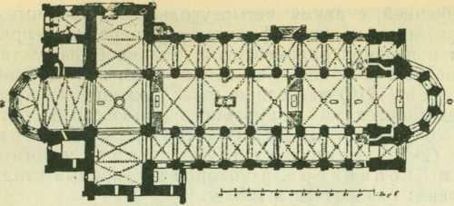 План собора в Бамберге