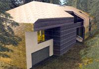 Проект дома в переделкино Архит. В. и А. Лобановы 1 место в номинации 'Проект-идея загородного дома'
