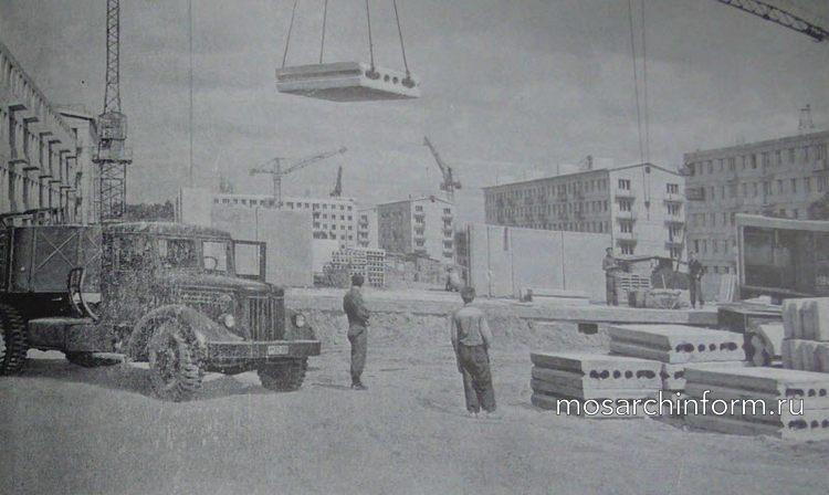 Советская архитектура - начало типового индустриального домостроения