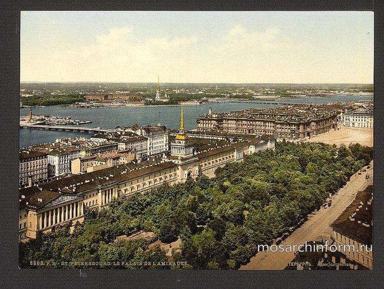 Адмиралтейство, Петербург начала 20 века - Архитектура и достопримечательности Санкт-Петербурга, фото.