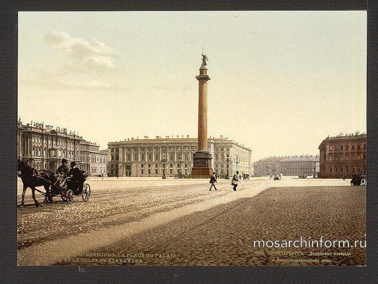 Дворцовая площадь и Александровская колонна - Архитектура и достопримечательности Санкт-Петербурга, фото