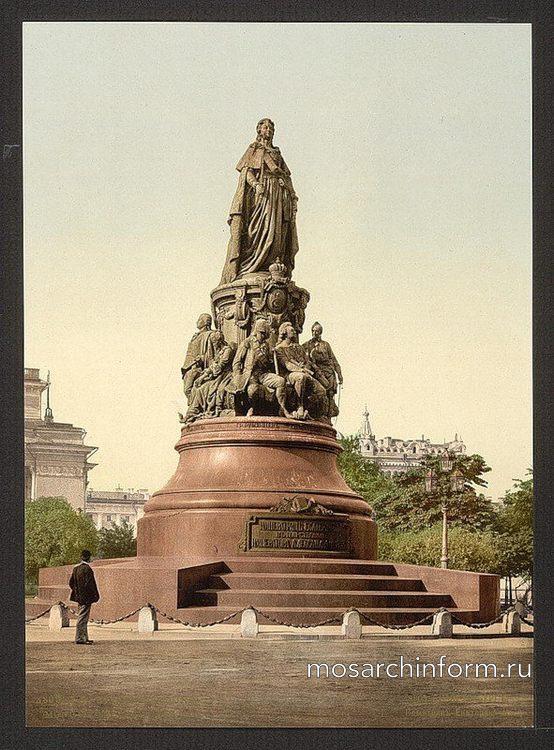 Памятник Екатерине II - Архитектура и достопримечательности Санкт-Петербурга, фото