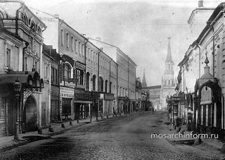Никольская улица, Москва, архитектура, история