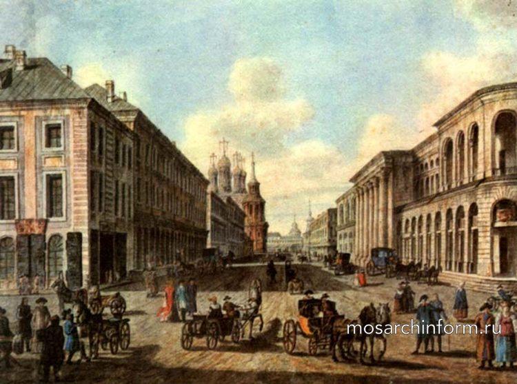 Ильинка в конце 18 века