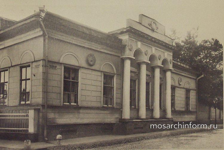 Дом Лопатиной (Хрущевский переулок, Москва) - Архитектура Москвы времён Екатерины II