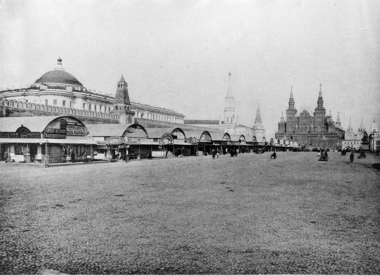 Красная площадь, Москва, метро, архитектура, история