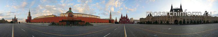 360 панорама Красной площади