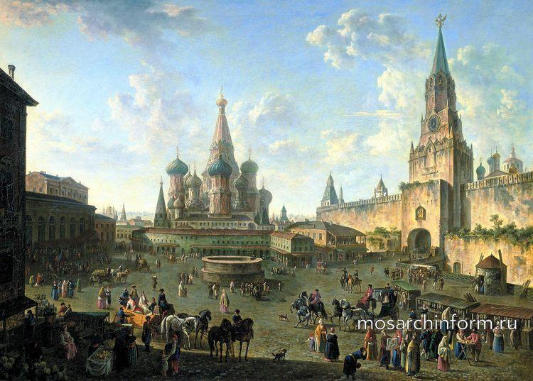 Красная площадь 18 век