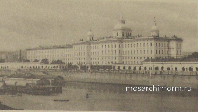 Воспитательный дом (улица Солянка, Москва)  - Архитектура Москвы времён Екатерины II, вт.п. 18 века