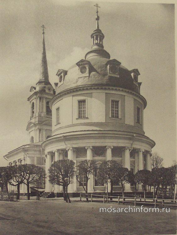 Церковь Вознесения (Гороховое поле, Москва) - Архитектура Москвы времён Екатерины II, вт.п. 18 века