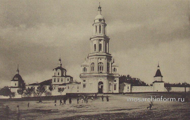 Колокольня Спасо-Андреевского монастыря (Николо-Ямская улица, Москва)