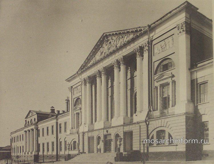 Военный госпиталь (Лефортово, Москва) - Архитектура Москвы времён Екатерины II, вт.п. 18 века