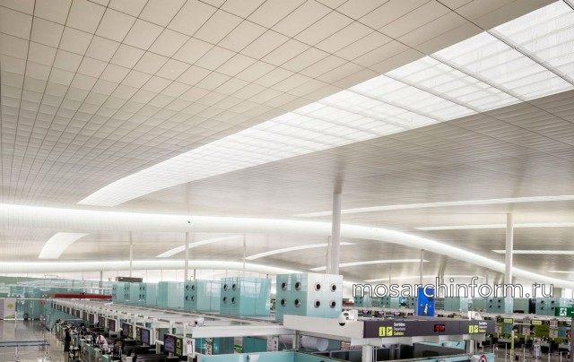 Терминал 1 аэропорта Барселоны - архитектурное бюро Bofill Arquitectura