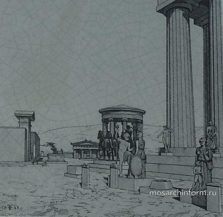 реконструкция Храм Ромы и Авгуcта - древнегреческая архитектура