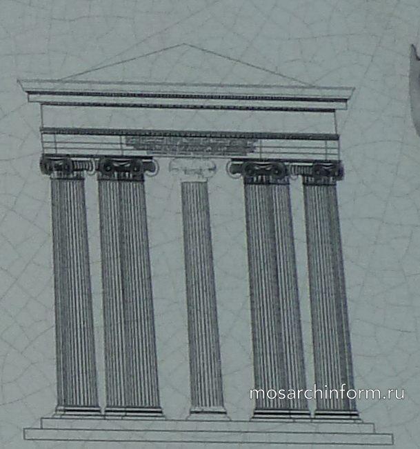 Храм Ромы и Авгуcта - древнегреческая архитектура