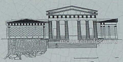 Западный фасад Пропилей ( рис. Таноулас)