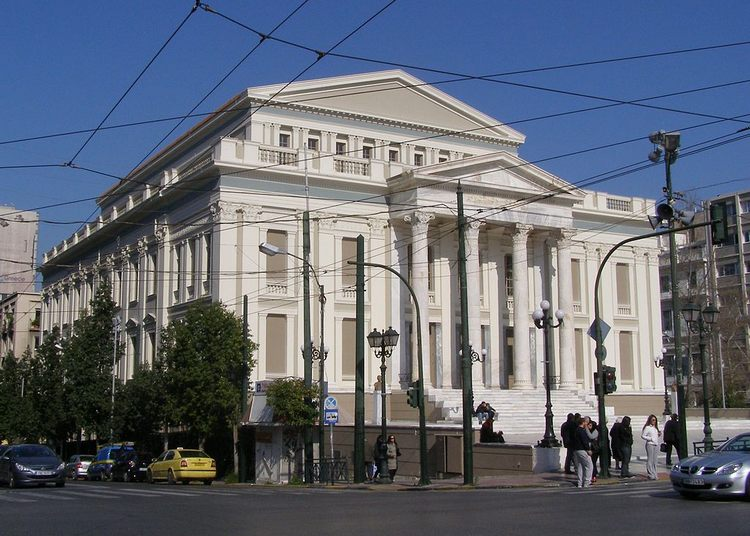 Современная греческая архитектура - Муниципальный театр, г. Пирей