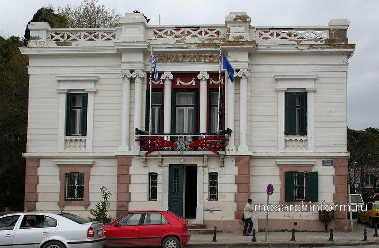Современная греческая архитектура - Старое здание городского совета, г. Митилини (1900 г)