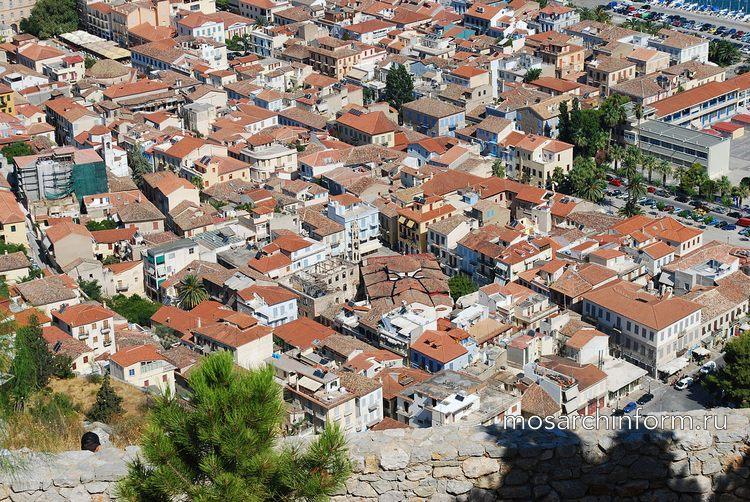 Современная греческая архитектура - Дома в традиционном стиле в Нафплионе