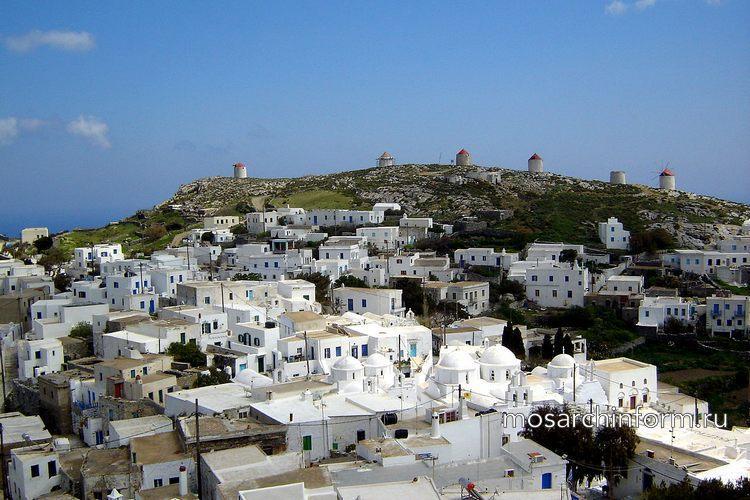 Современная греческая архитектура - Архитектура Киклады на Аморгосе