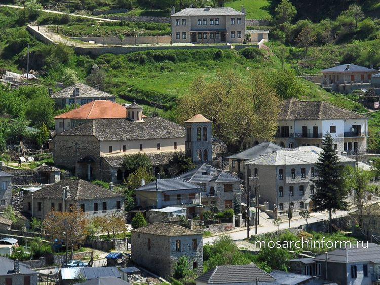 Современная греческая архитектура - Эпиротская архитектура, Загори