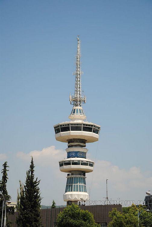 Современная греческая архитектура - Башня ОТЕ в Салониках, пример модернистской архитектуры (1966 г)