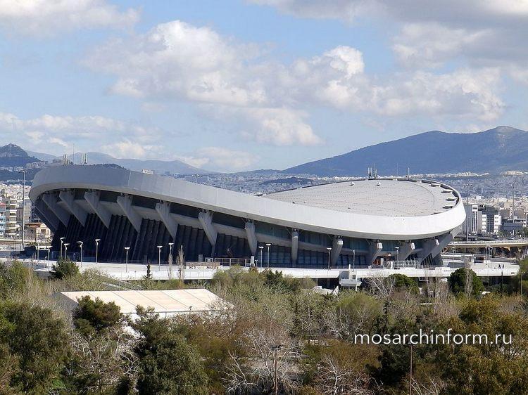 Современная греческая общественная архитектура - Стадион мира и дружбы (1985)