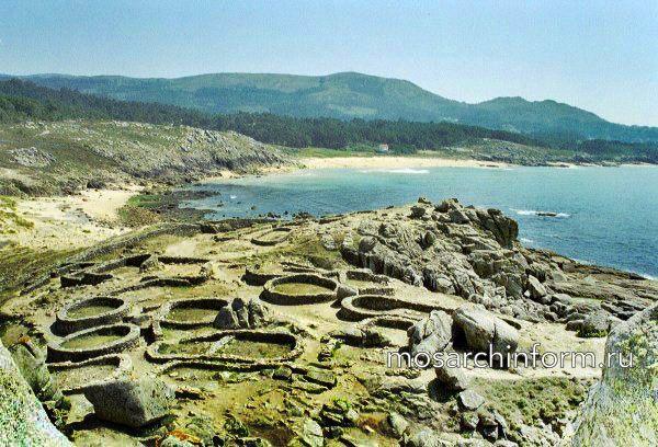 Кельтские поселения в Галисии: Кастро де Баронья - Иберийская и кельтская архитектура - Архитектура Испании