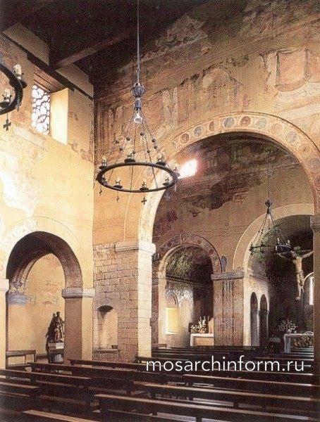 Интерьер Сан Хулиан де лос Прадос - Архитектура Испании