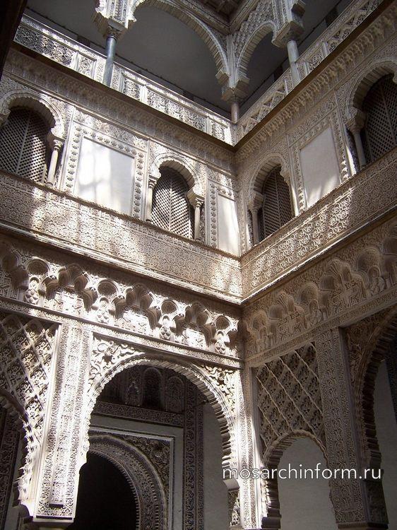 Двор кукол в Алькасаре Севильи - Стиль мудехар - Архитектура Испании