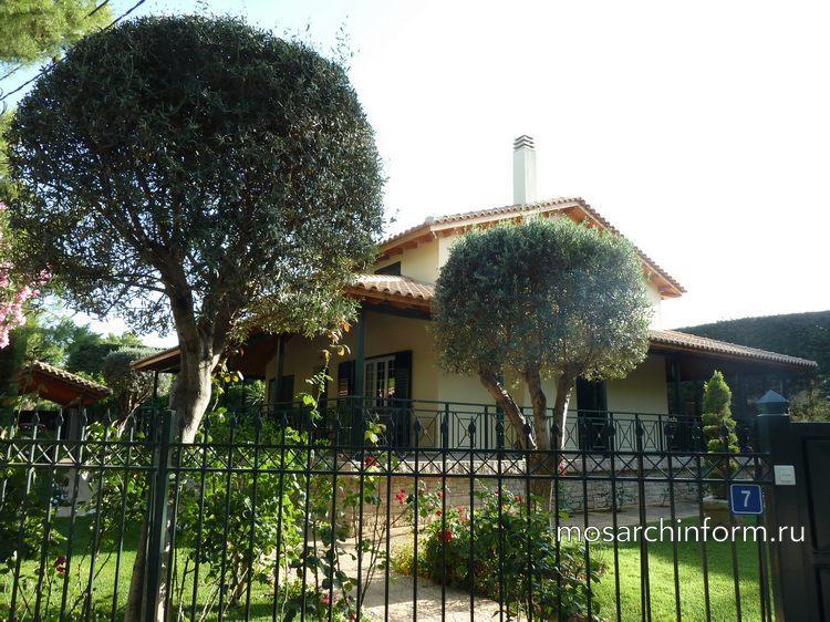 Современная архитектура Греции фото - частный дом