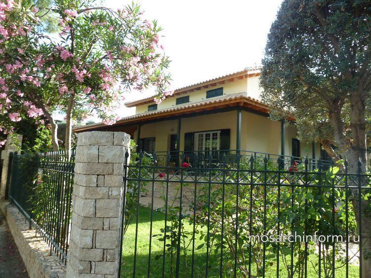 Частный дом архитектура Греции