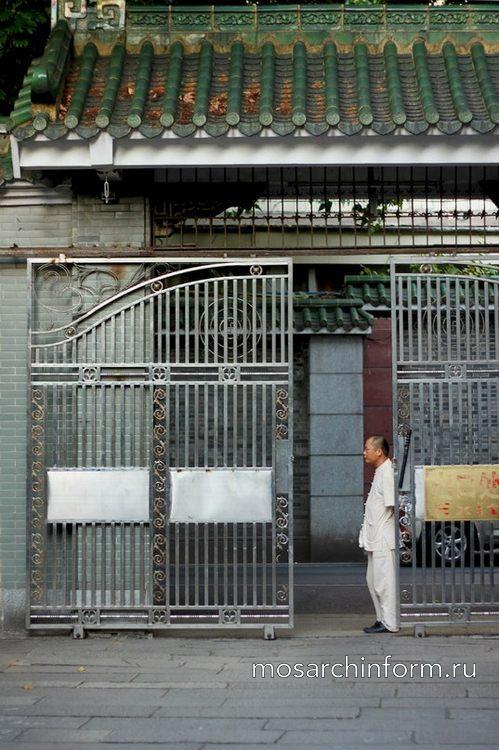 Красивые и оригинальные заборы и ворота, Гуанжоу