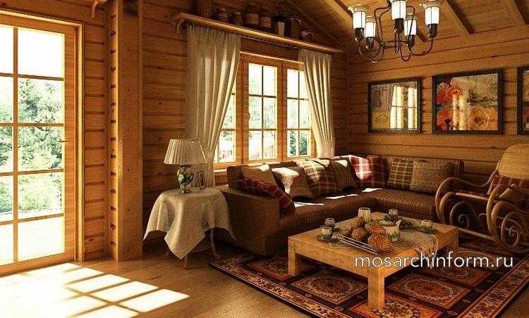 проект дома из клееного бруса - Фото пользователей сайта фото