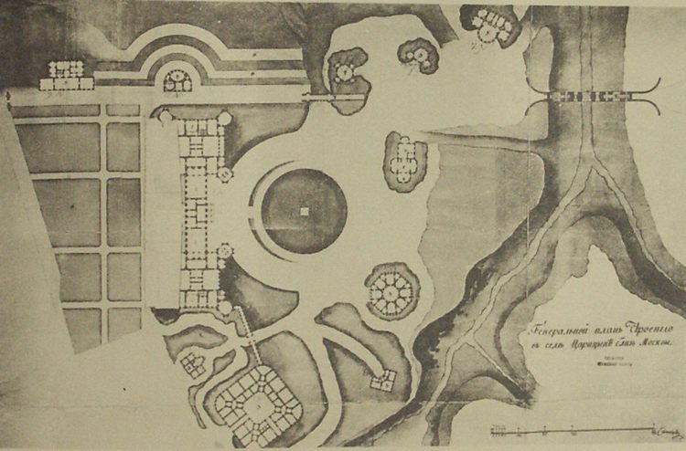 Царицыно - Архитектура Москвы времён Екатерины II, вт.п. 18 века.