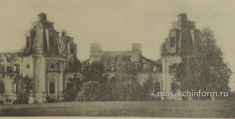 Царицыно развалины дворца