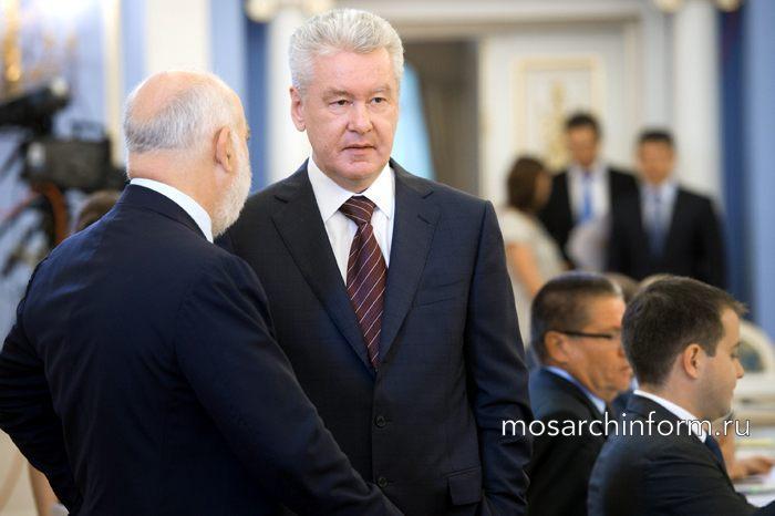 Сергей Собянин внёс предложение принимать строительную документацию только в электронном виде