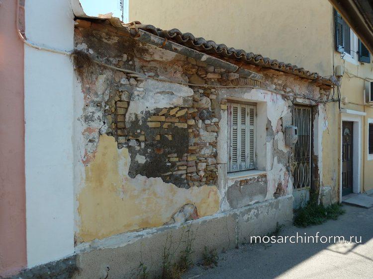 Старые здания Корфу (Коркира, Керкира), архитектура, история, достопримечательности