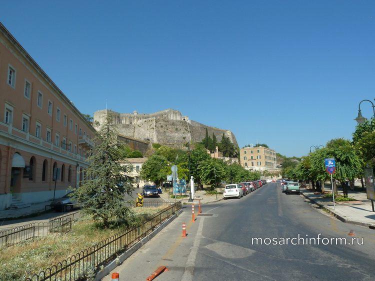 Корфу (Керкира), архитектура, история, достопримечательности