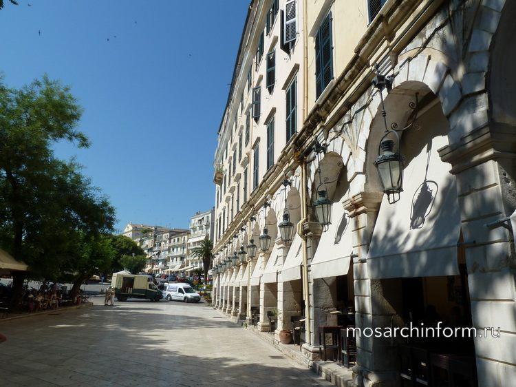 Корфу (Коркира, Керкира), архитектура, история, достопримечательности