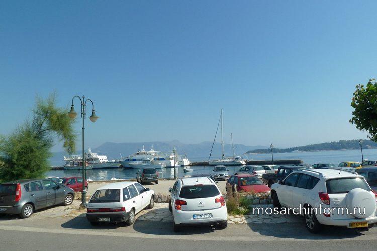 Транспорт на Корфу