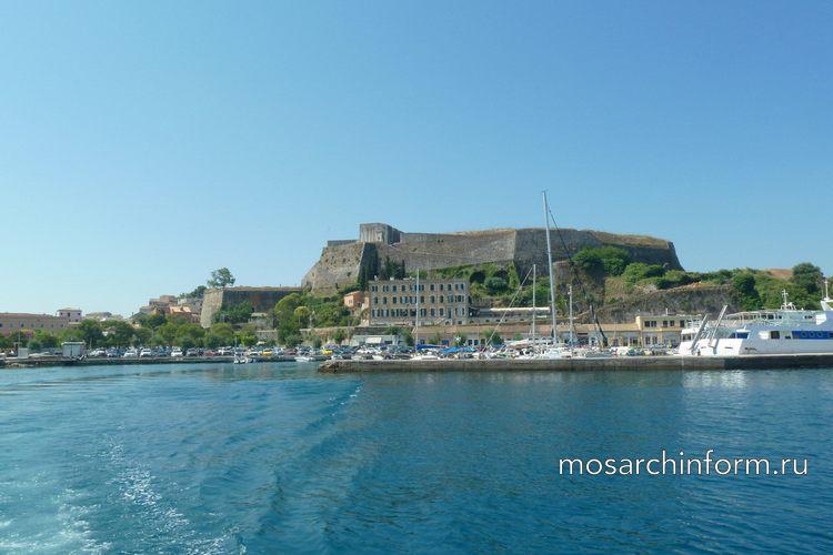 Нео Фурио, или новая крепость Корфу